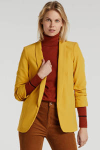 PIECES blazer geel, Geel