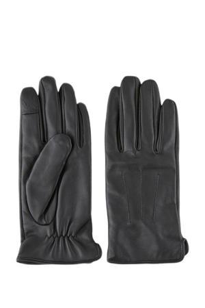 leren handschoenen Nellie zwart