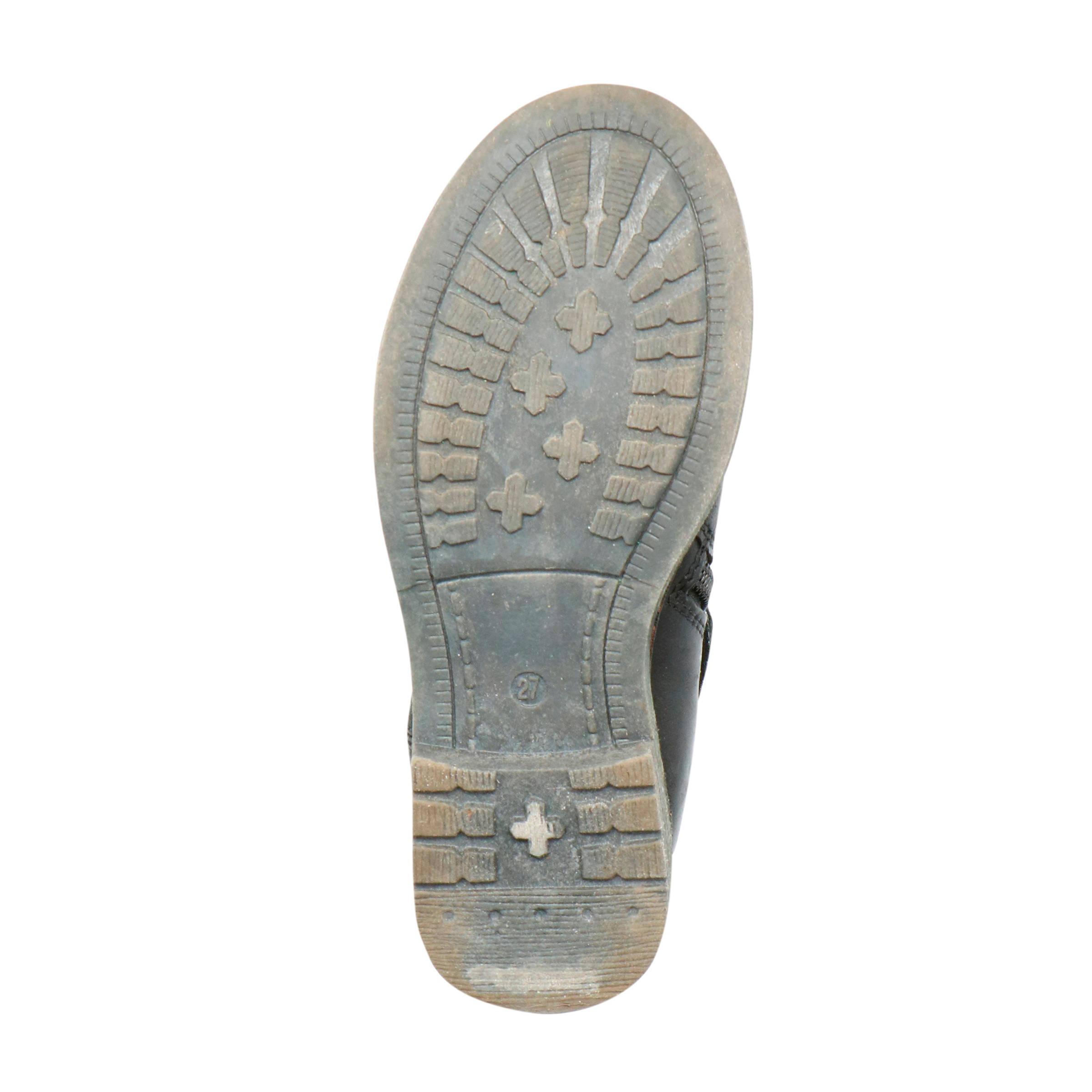 Braqeez Noor Nova leren laarzen bruin | wehkamp