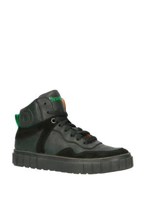 Lars Lux leren sneakers zwart