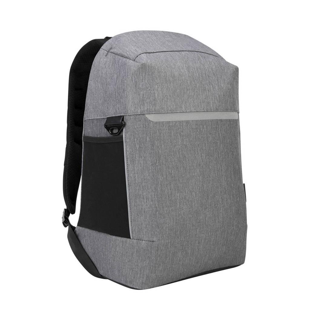 Targus  15,6 inch Citylite Pro anti-diefstal laptoptas rugzak, Zilver/zwart