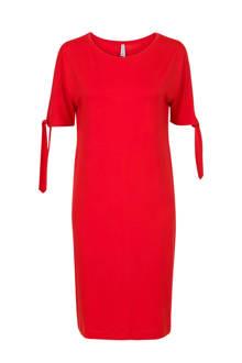 Regulier jurk met open mouwen