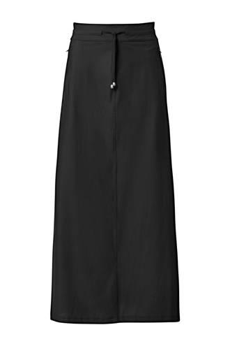 Mart Visser rok met zijstreep van travelstof zwart