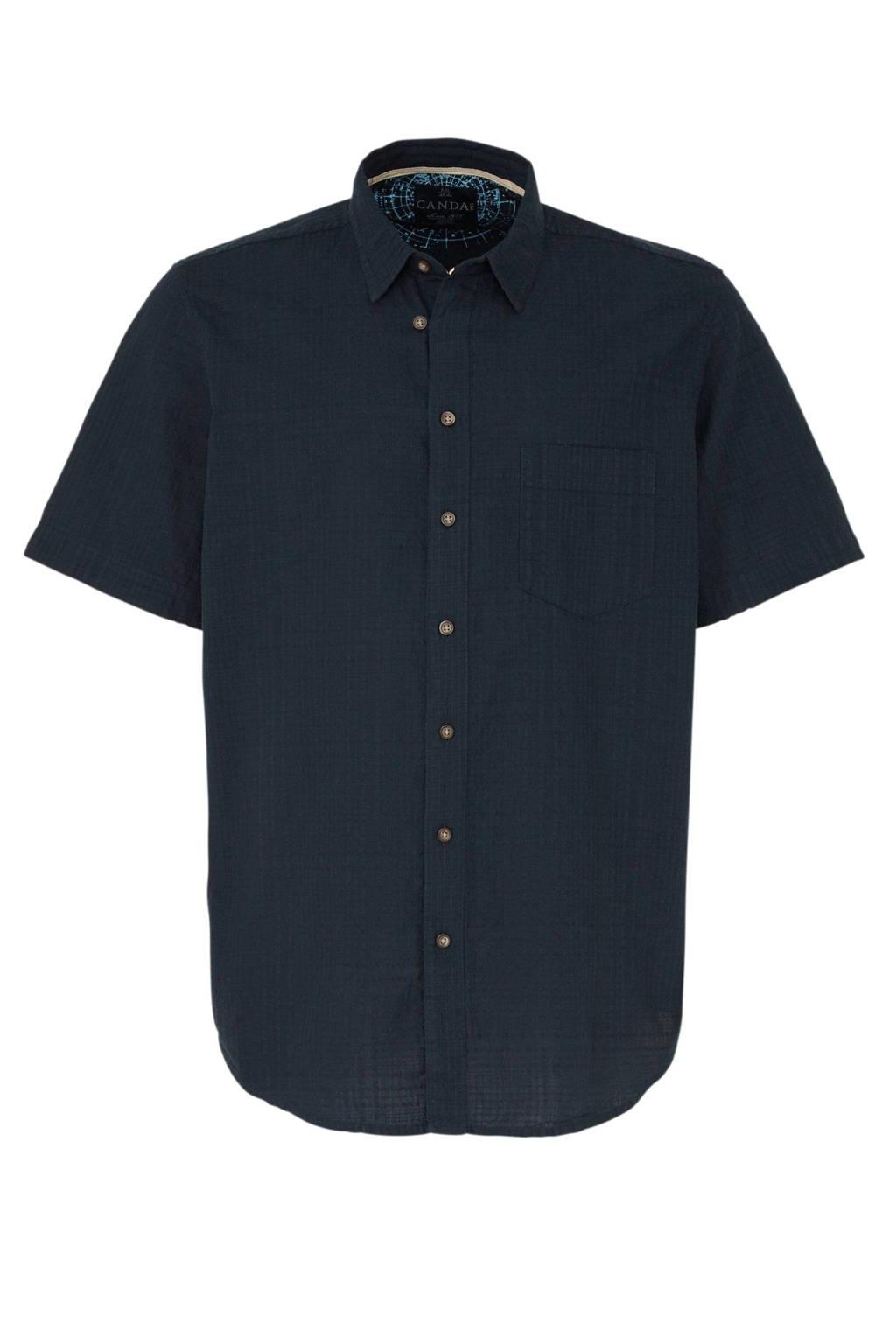 C&A XL Canda overhemd donkerblauw, Donkerblauw