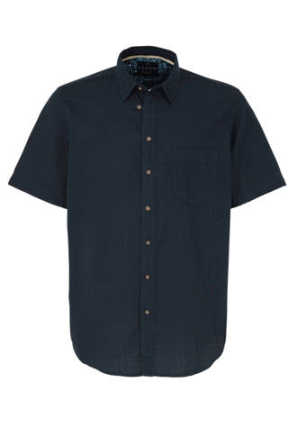 XL Canda overhemd donkerblauw
