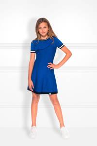 NIK&NIK jurk Rachella Jintha met glitters blauw, 7115 River Blue