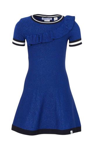 jurk Rachella Jintha met glitters blauw