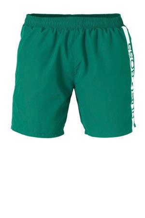 zwemshort met merknaam groen