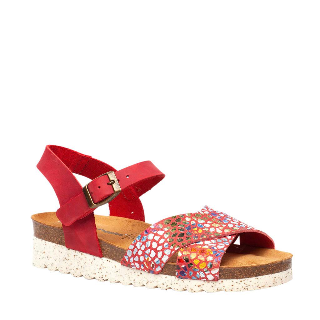 Hush Puppies sandalen rood/multi, Rood/multi
