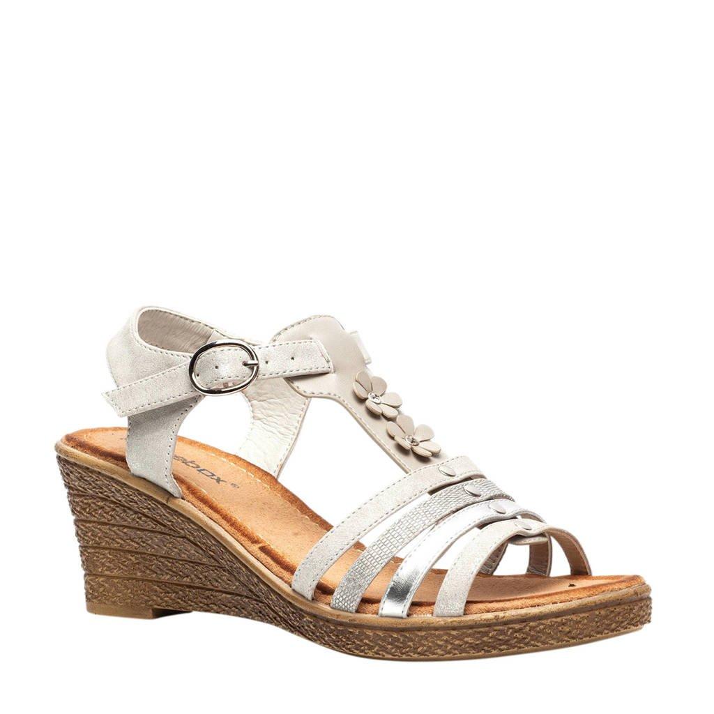 Scapino Blue Box sandalettes grijs, Grijs