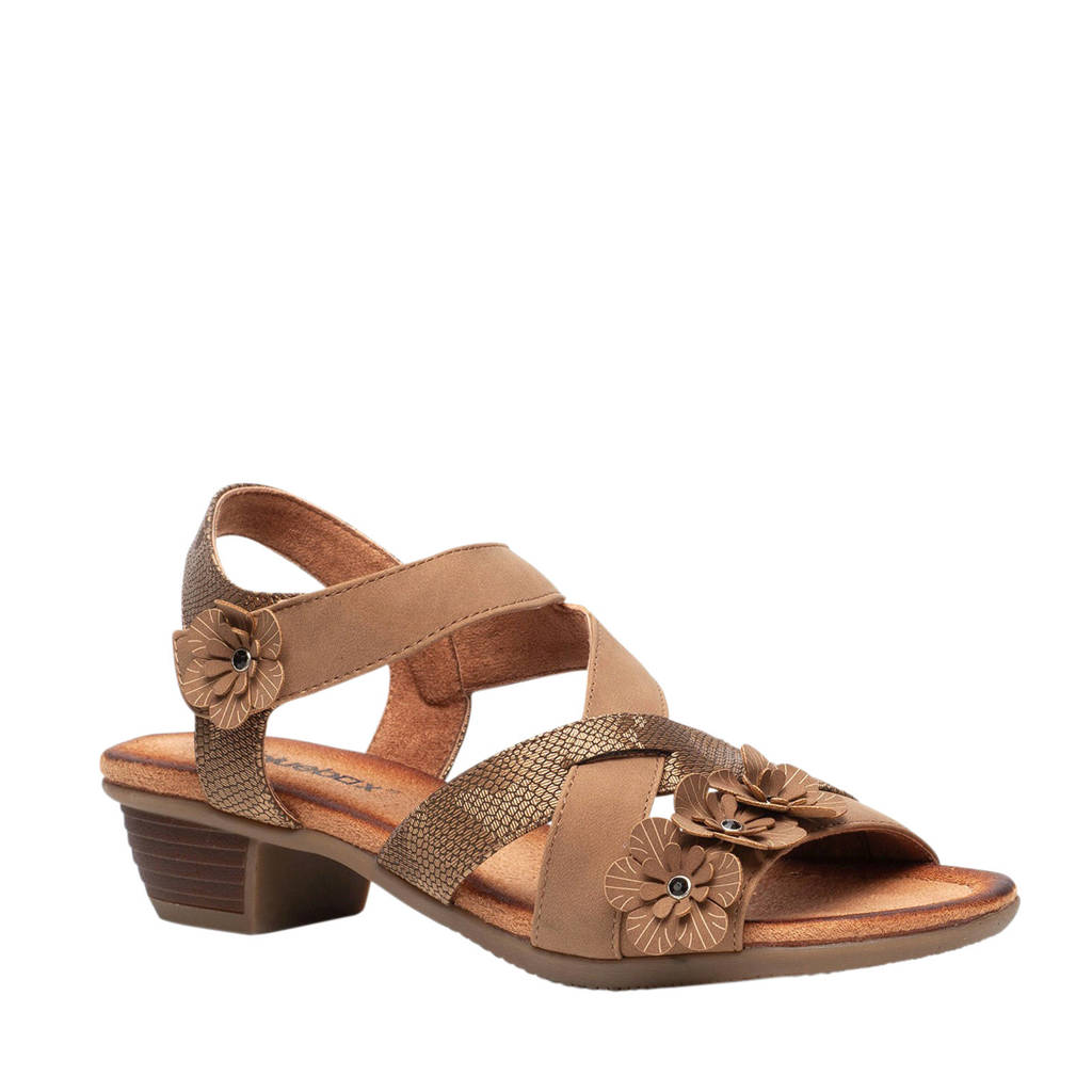 Scapino Blue Box sandalettes bruin, Bruin