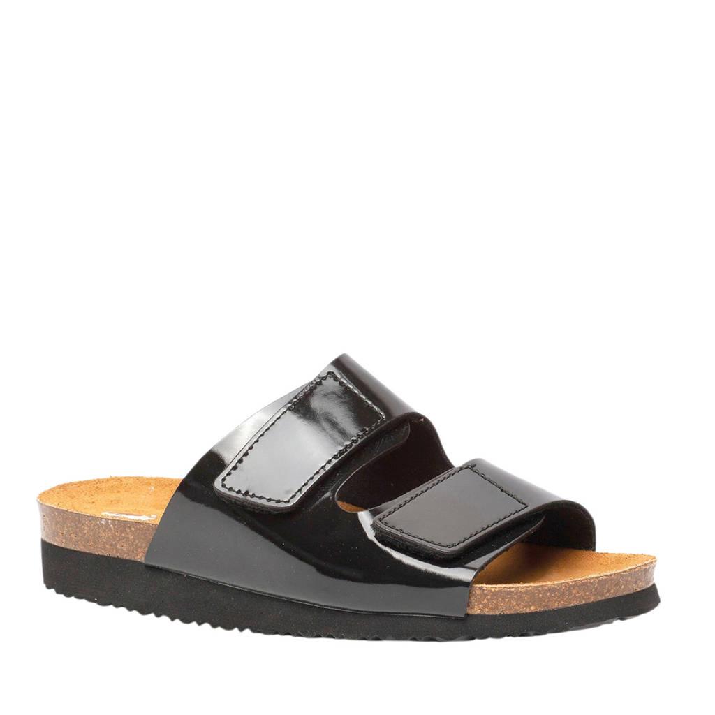 Hush Puppies slippers zwart, Zwart