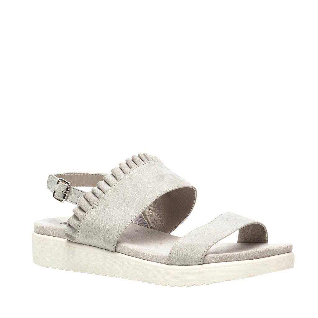 Scapino Nova sandalen zilver, Zilver