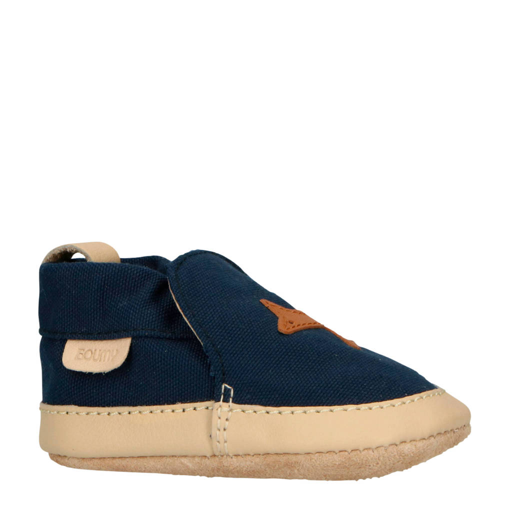 Boumy   Kai babyschoenen blauw, Blauw/beige