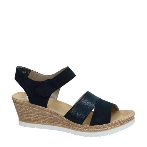 Rieker sandalettes donkerblauw