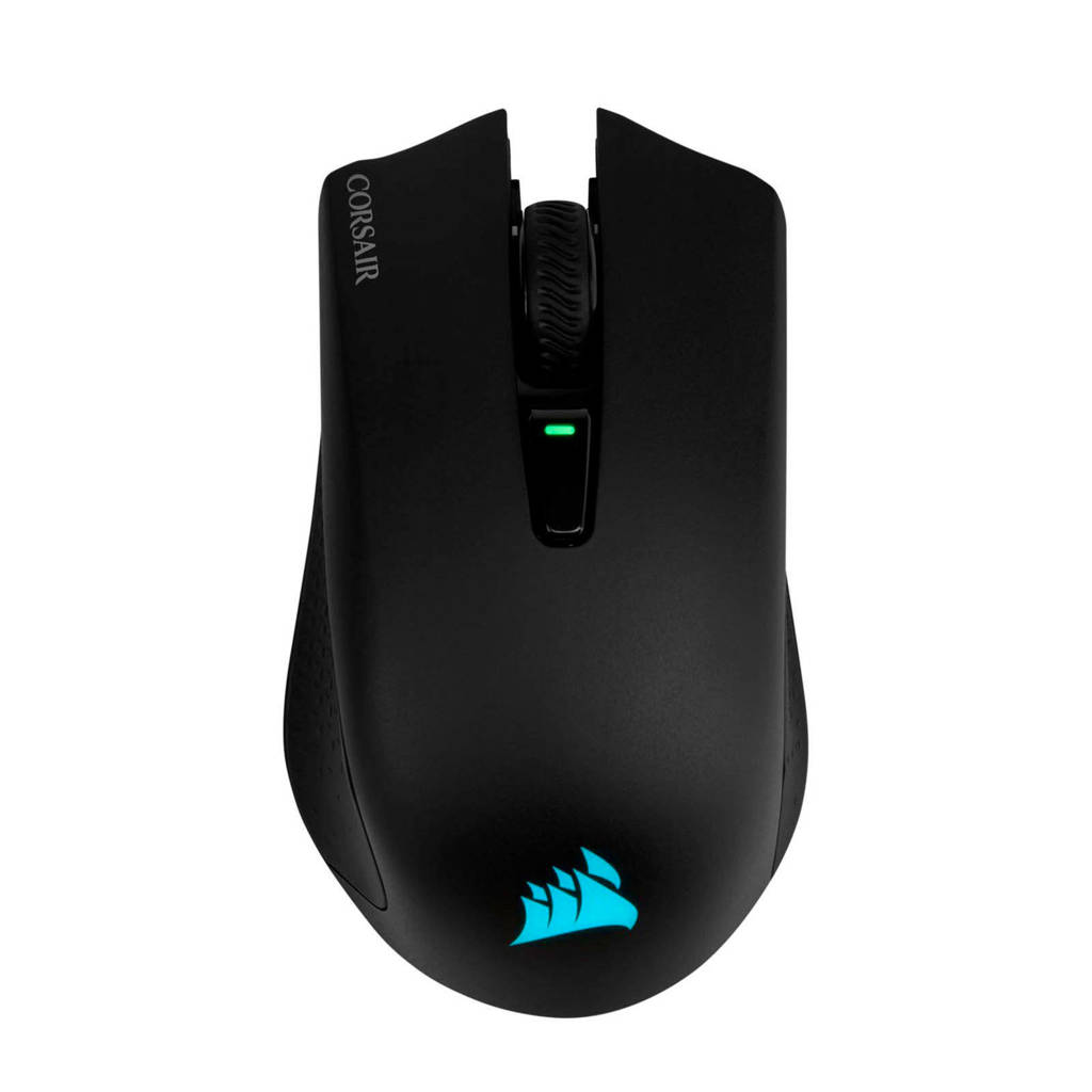 Corsair HARPOON RGB gaming muis, Zwart