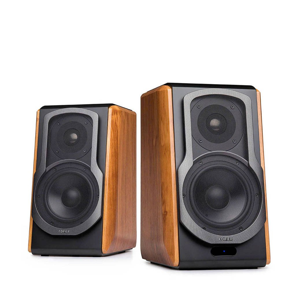 Edifier S1000DB PC speakersysteem, Black,Wood