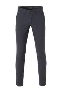 C&A Angelo Litrico slim fit chino antraciet, Antraciet