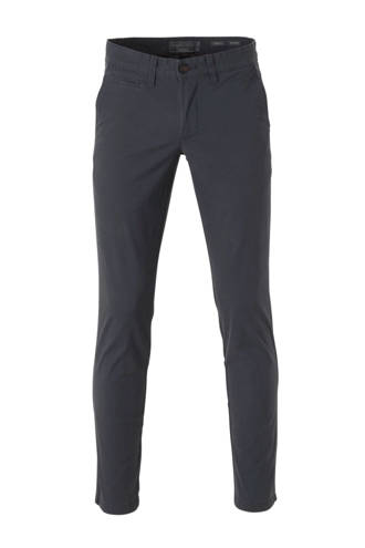 Angelo Litrico slim fit chino antraciet
