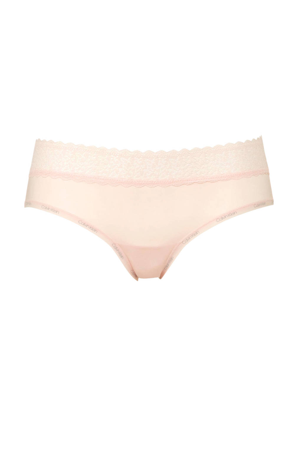 CALVIN KLEIN UNDERWEAR slip Flirty met kant roze, Roze