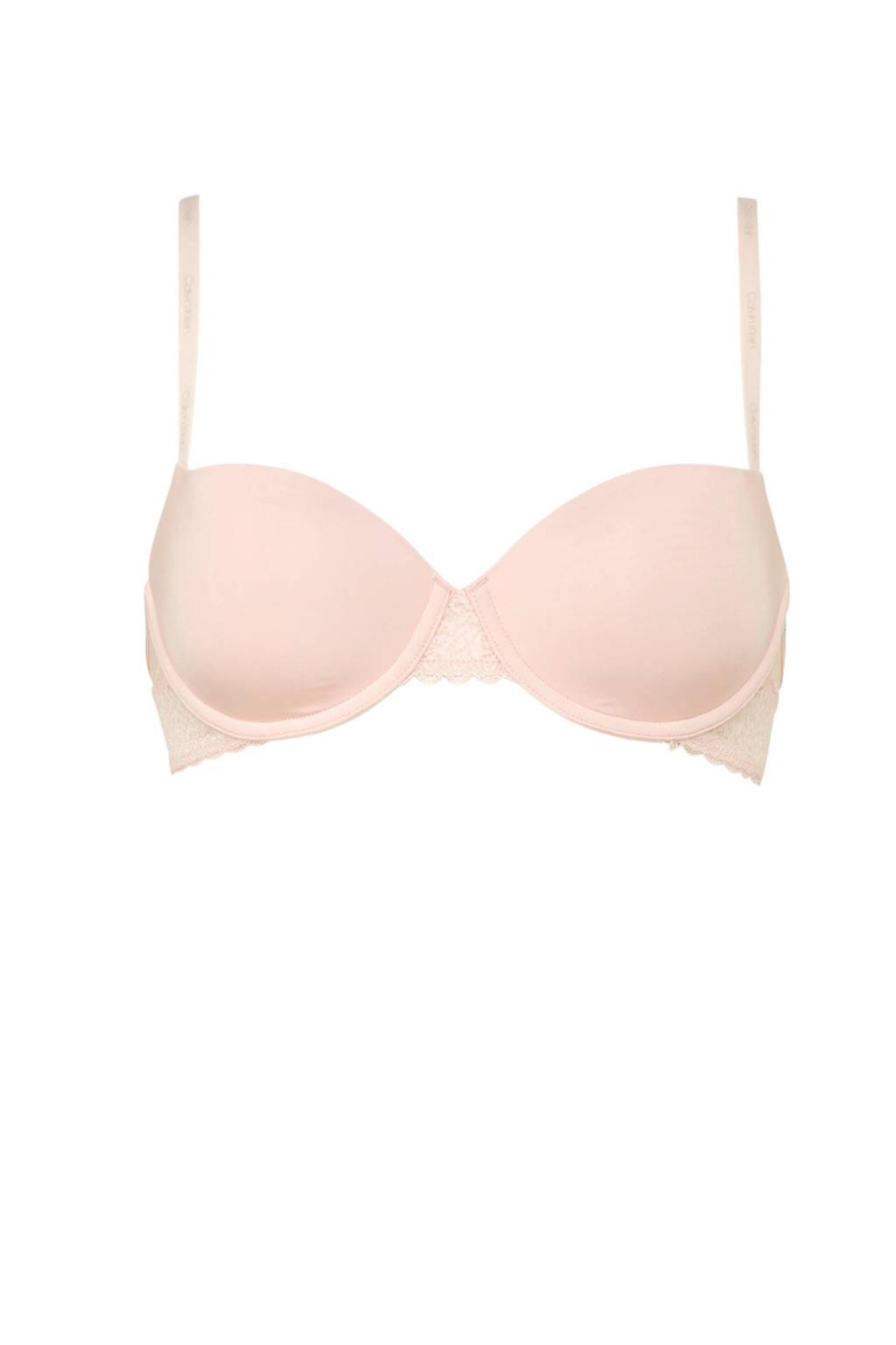 CALVIN KLEIN UNDERWEAR voorgevormde beugelbh Flirty roze, Lichtroze