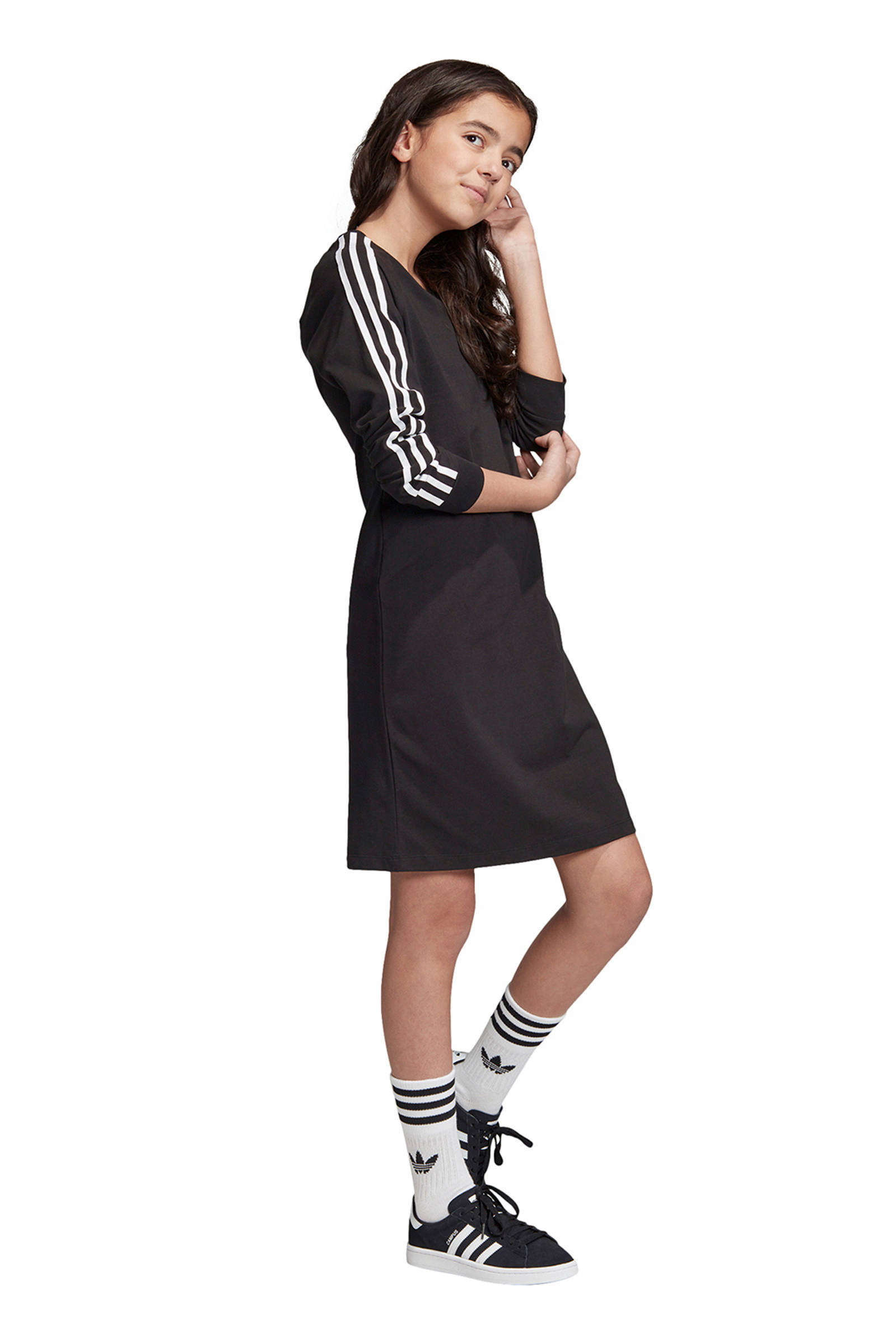 adidas Originals sweatjurk zwart   wehkamp