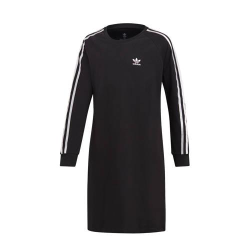 NU 15% KORTING: adidas Originals jerseyjurk 3-STRIPES DRESS