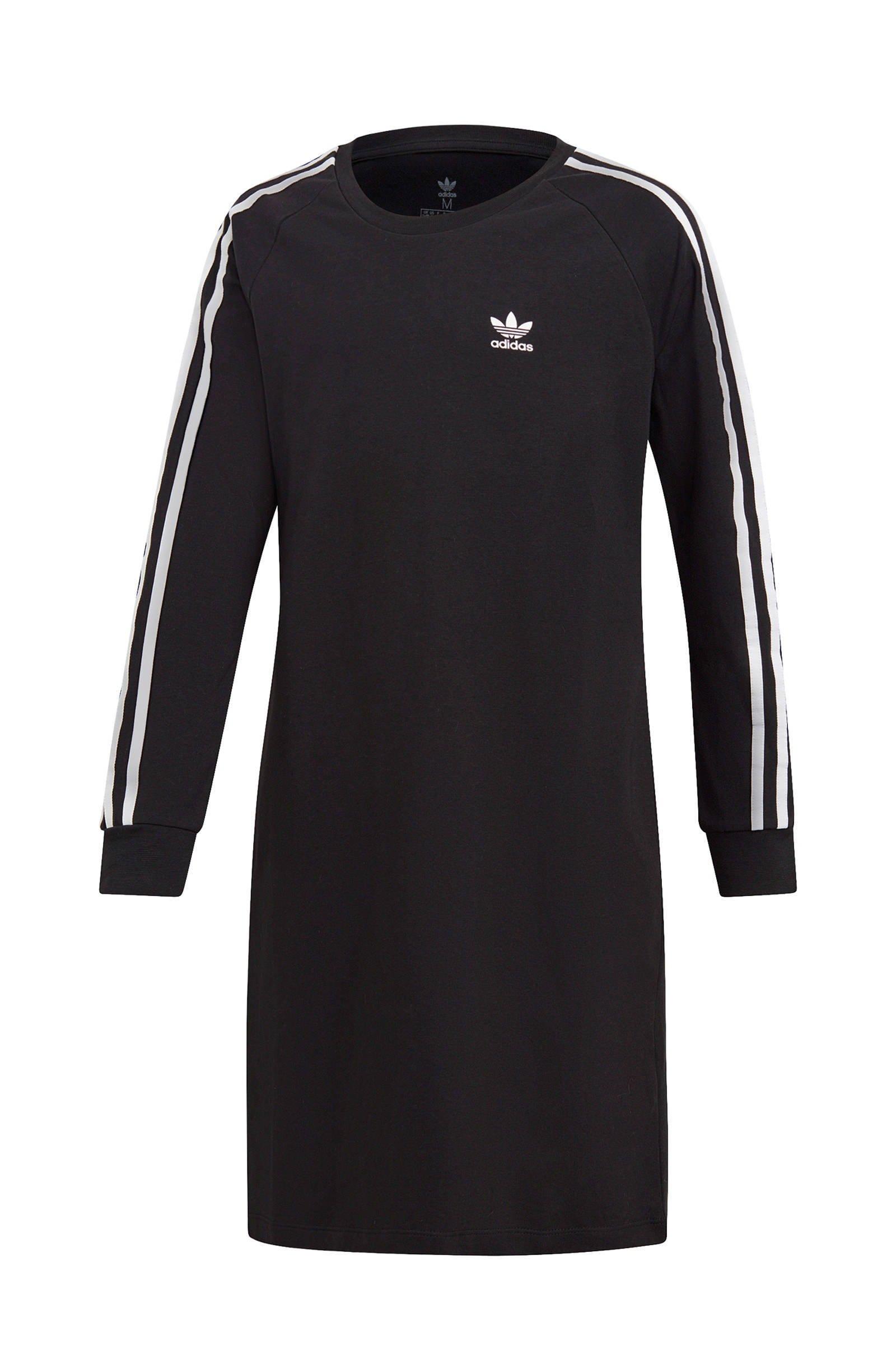 adidas Originals sweatjurk zwart | wehkamp