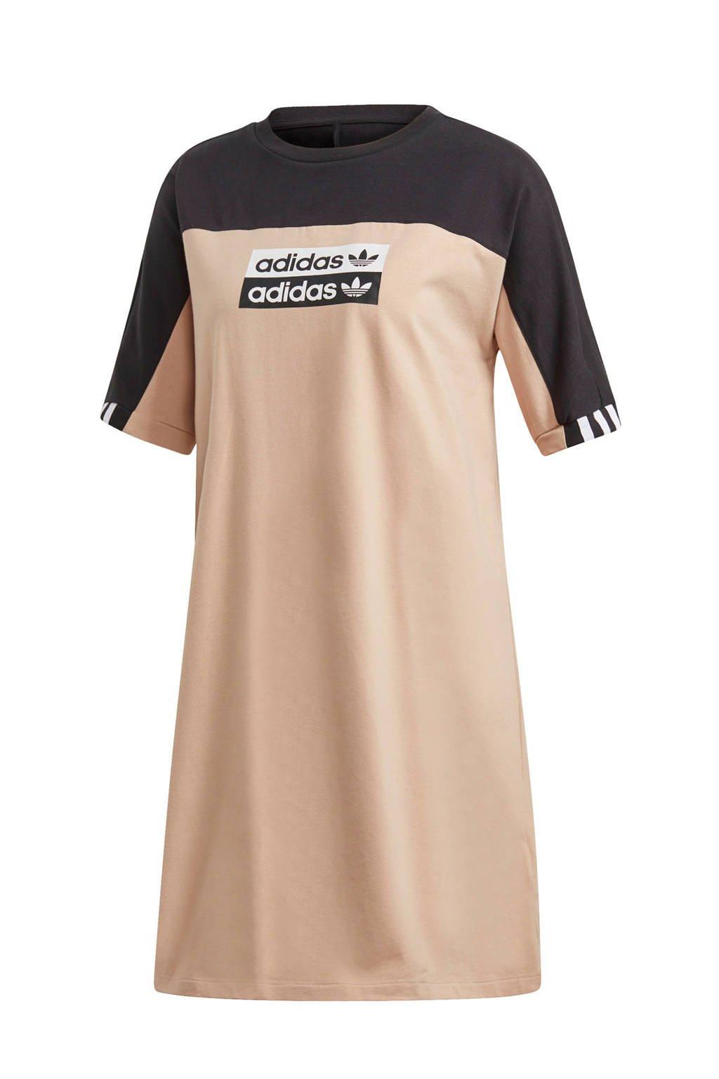 adidas originals jurk, Grijs/zwart