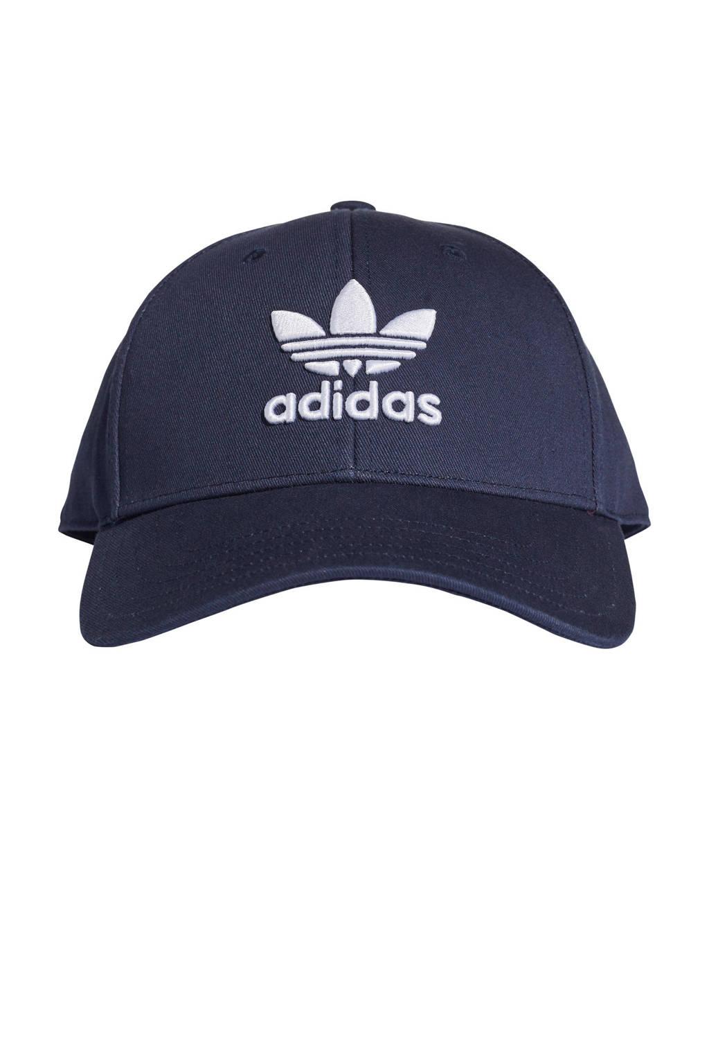 adidas Originals pet Baseball Classic Trefoil donkerblauw, Donkerblauw/wit