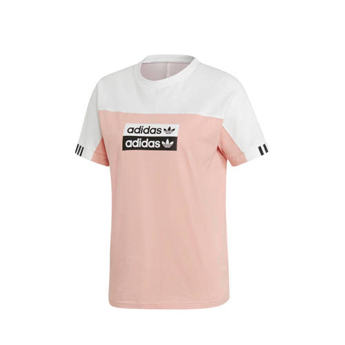 adidas originals T-shirt roze