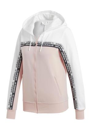 vest roze/wit