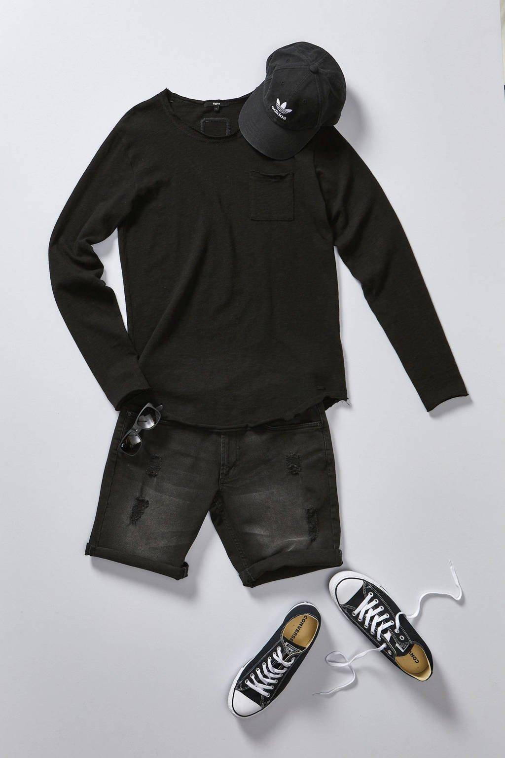 adidas Originals pet Baseball Classic Trefoil zwart, Zwart/wit