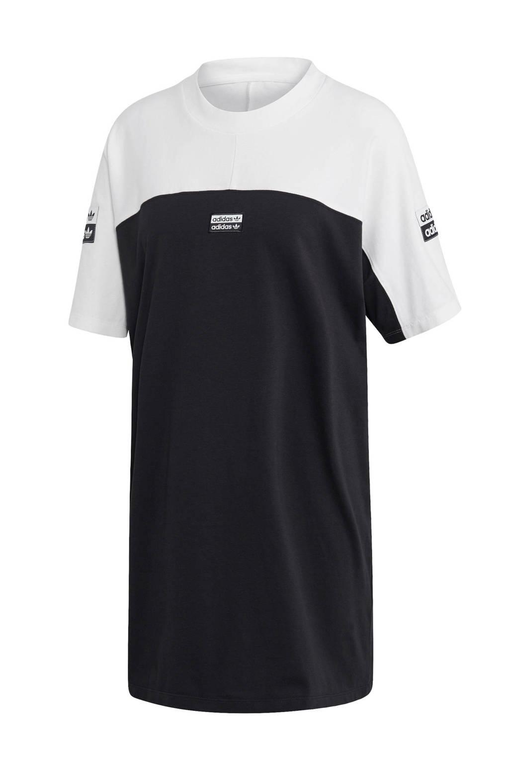 adidas originals jurk, Zwart/wit