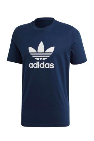 Adicolor T-shirt donkerblauw