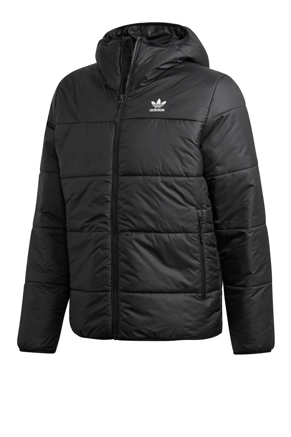 adidas Originals winterjas zwart, Zwart