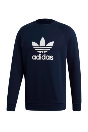 Adicolor sweater donkerblauw