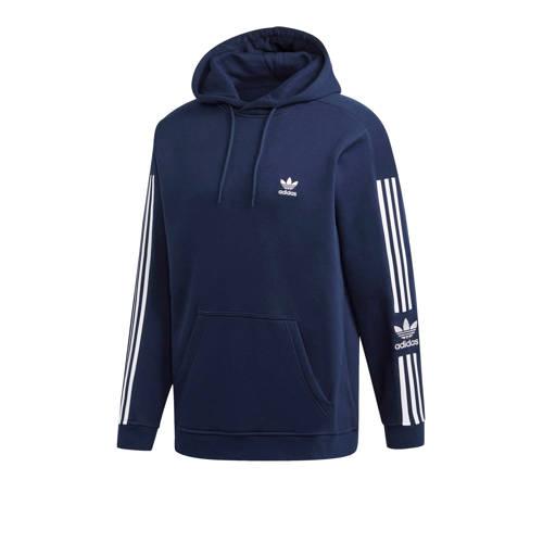 adidas originals Adicolor hoodie donkerblauw