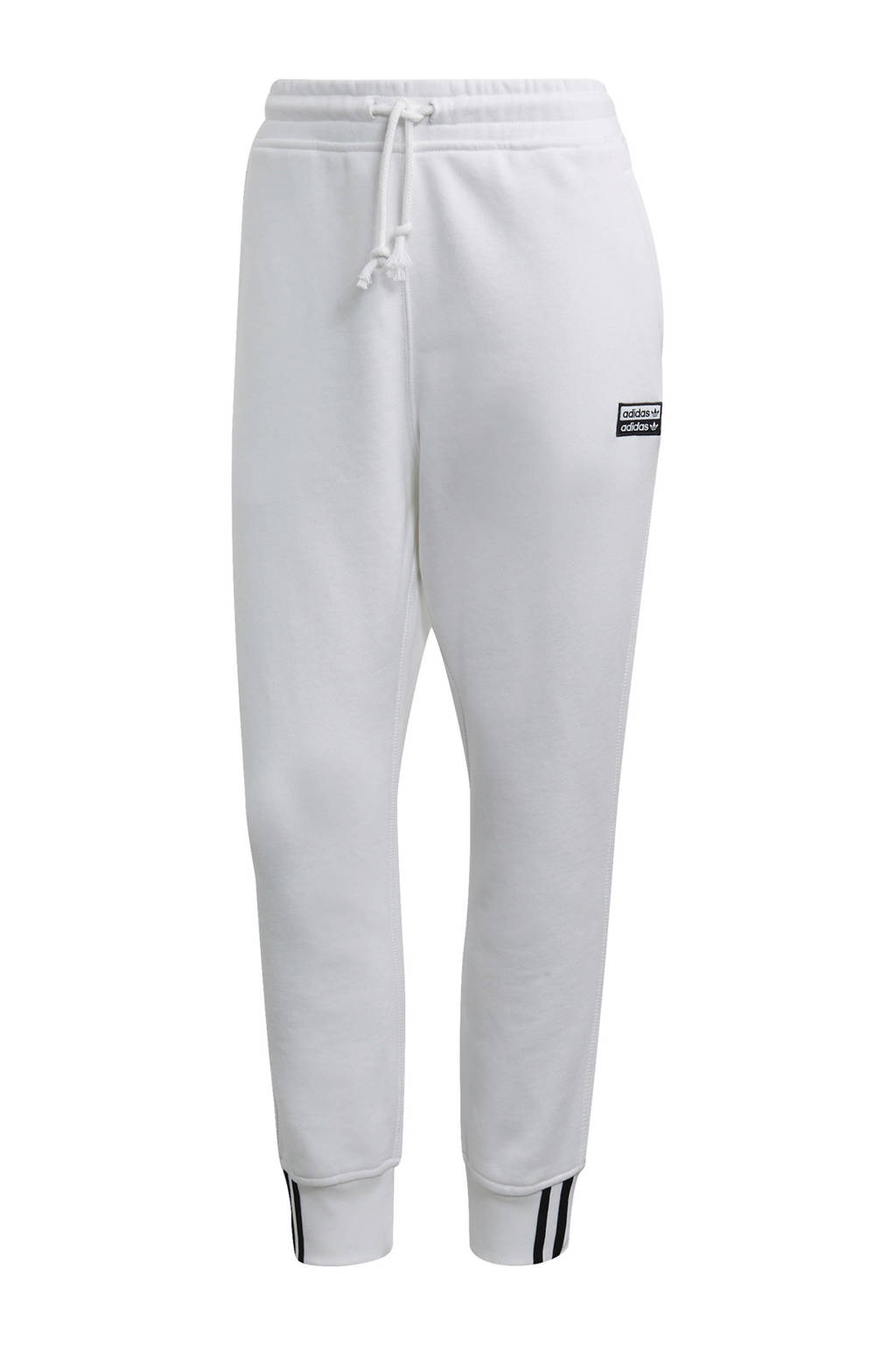 adidas originals regular fit joggingbroek wit, Wit