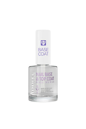 Nail Nurse Perfectional 5 in 1 base and topcoat - Transparent