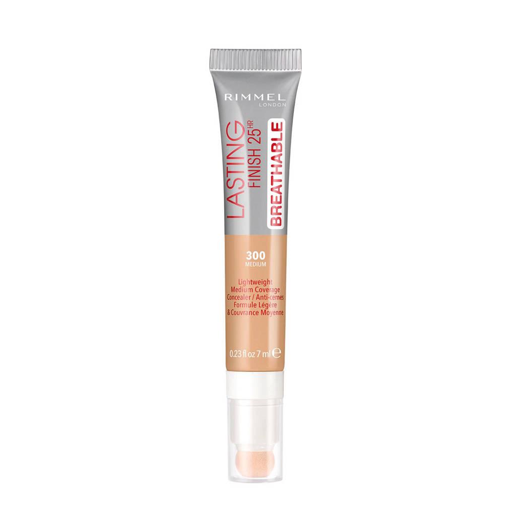 Rimmel London Lasting Finish Breathable Concealer - 300 Sand