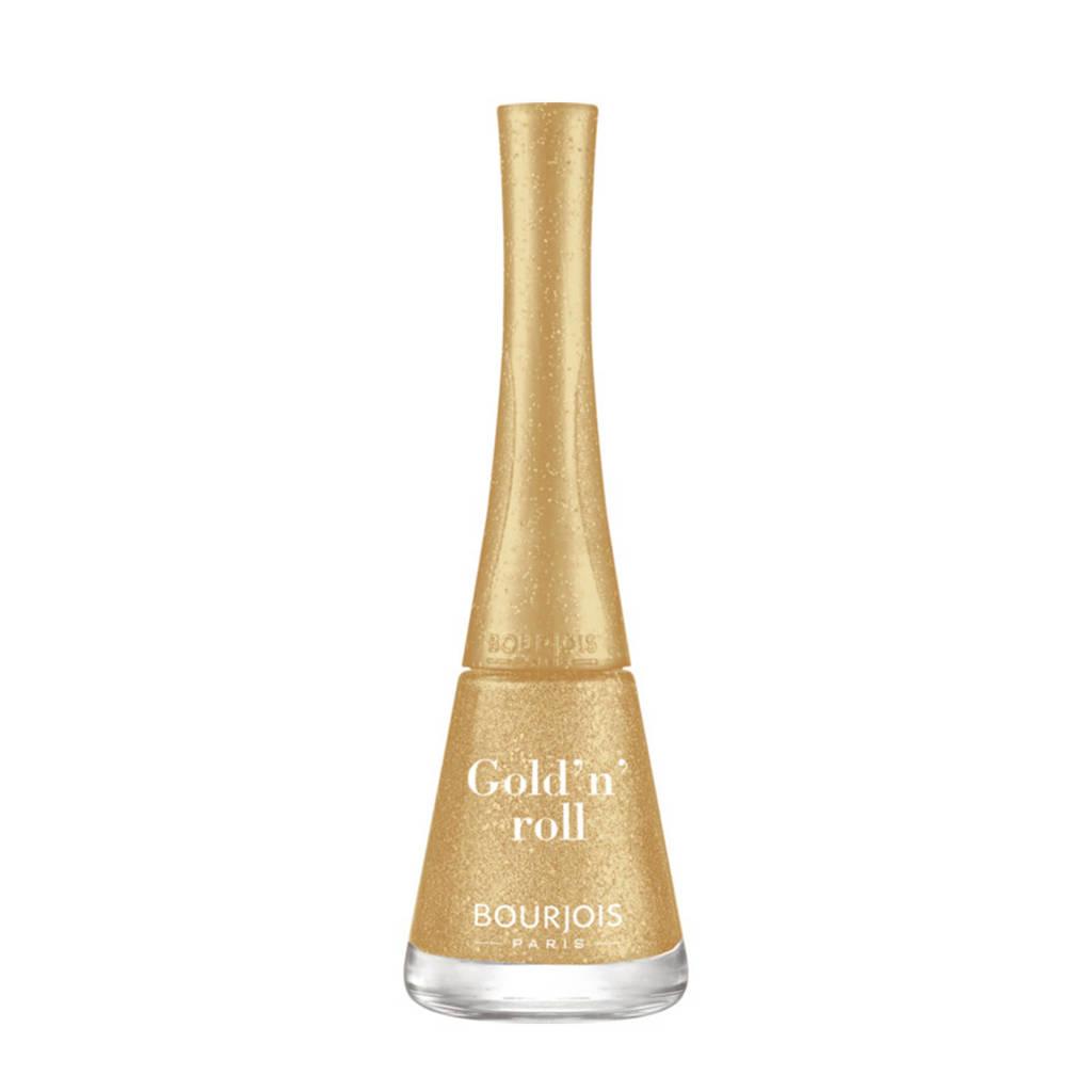 Bourjois 1 Seconde nagellak - 05 Gold'n'roll, 005 Gold'n'roll