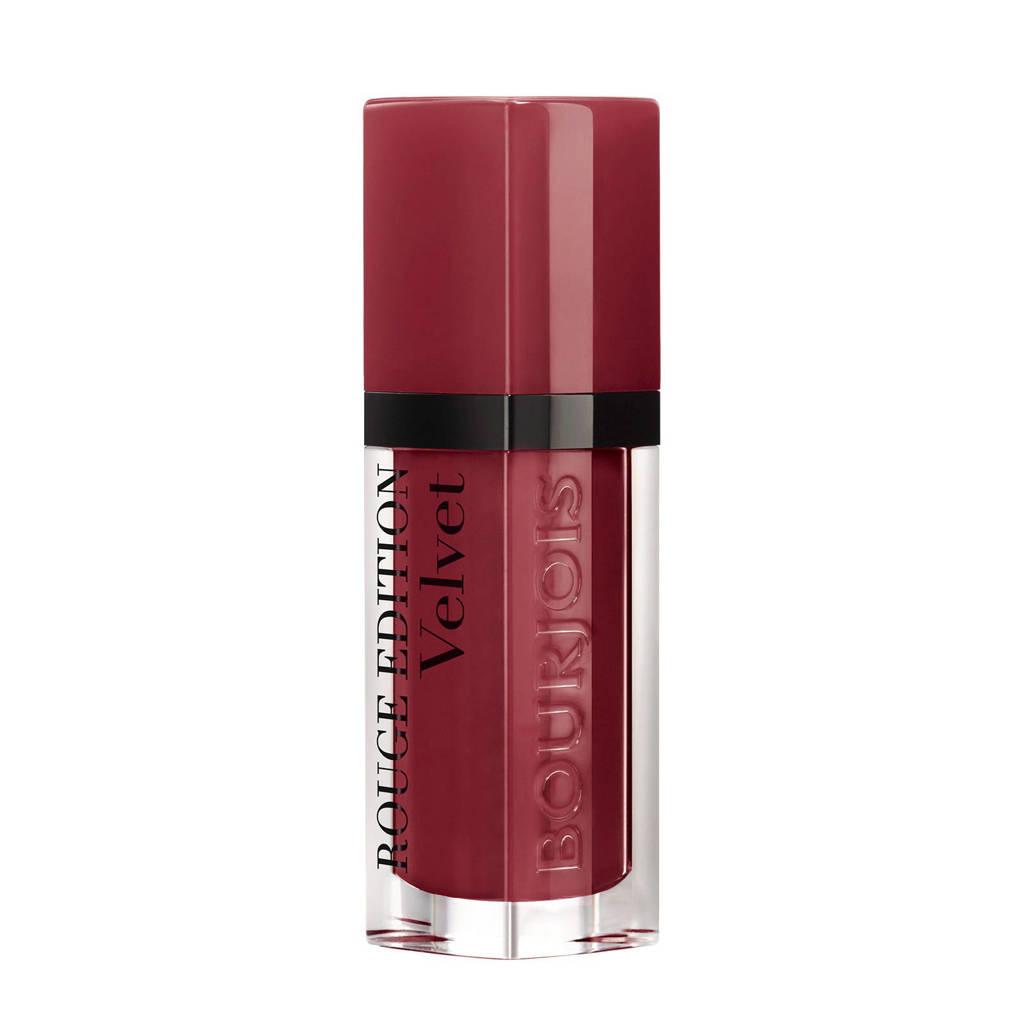 Bourjois Rouge Edition Velvet Lippenstift - 24 Dark Chérie, 24 - Dark Chérie