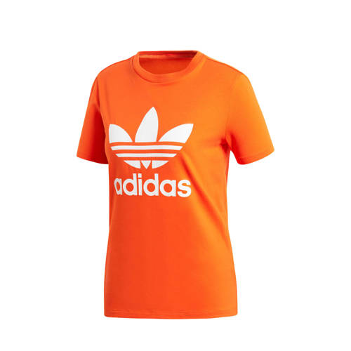 adidas originals Adicolor T-shirt oranje