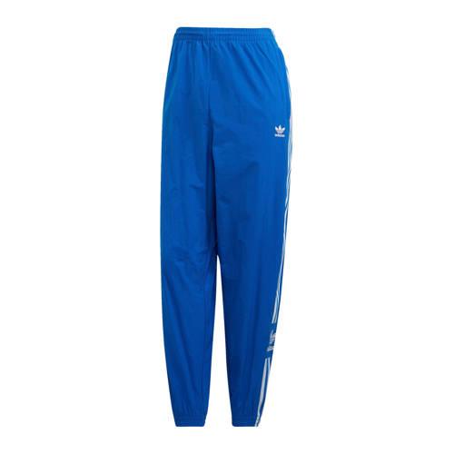 adidas originals sportbroek blauw