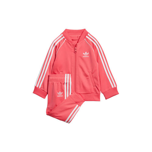 adidas originals trainingspak roze