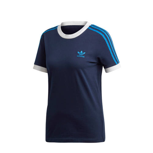 adidas originals Adicolor T-shirt donkerblauw