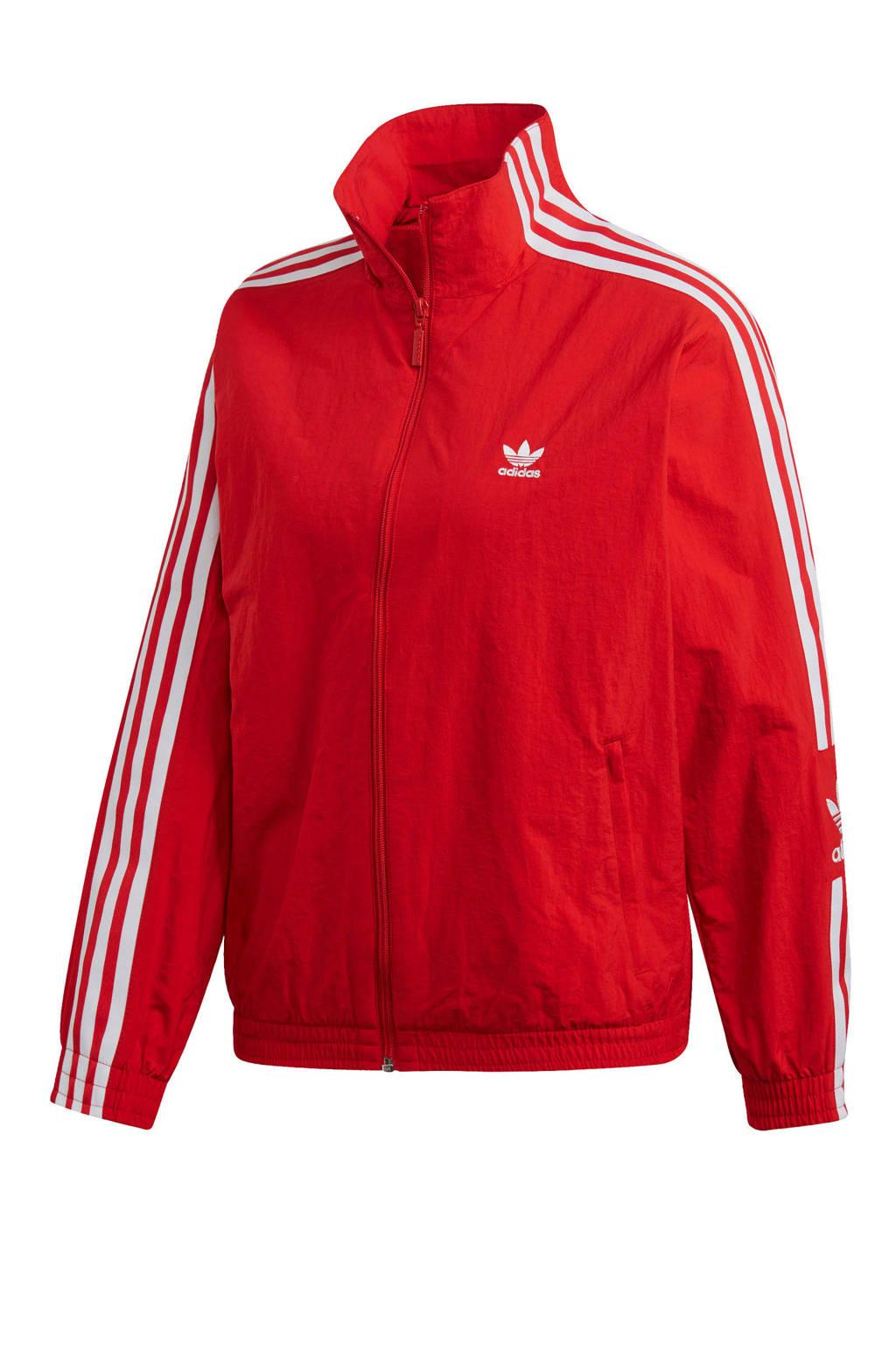adidas Originals Adicolor vest, Rood/wit