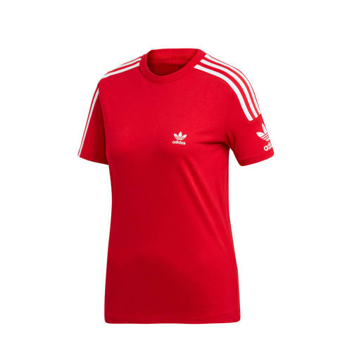 adidas originals Adicolor T-shirt rood