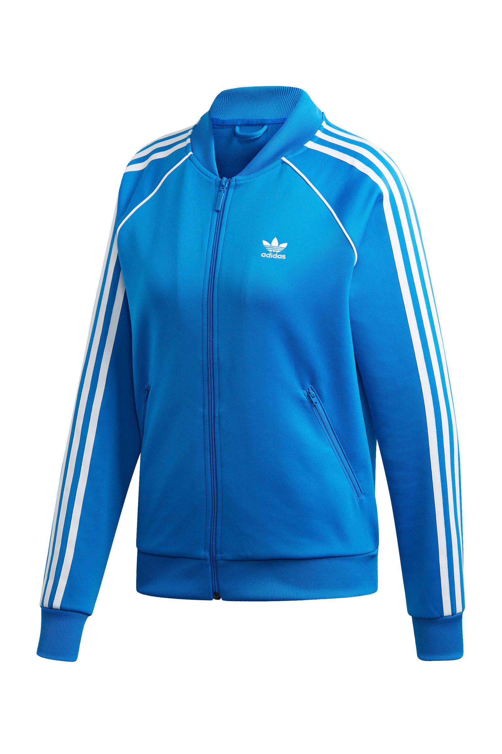 adidas Originals Adicolor vest blauw | wehkamp